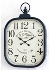 Picture of Blue Metal Old Town Clocks           CL70043